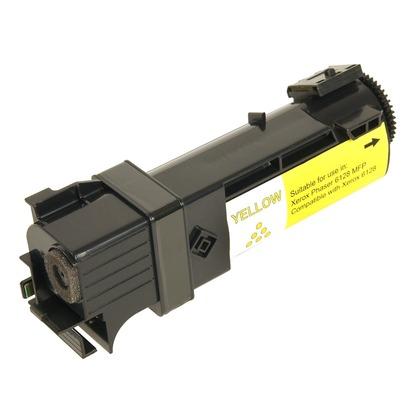 Toner Compatível XEROX PHASER 6128 106R01454 Amarelo