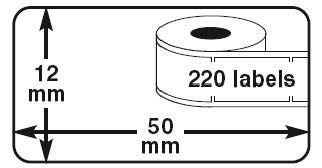 Etiquetas Compatíveis Dymo LabelWriter 99017 / S0722460
