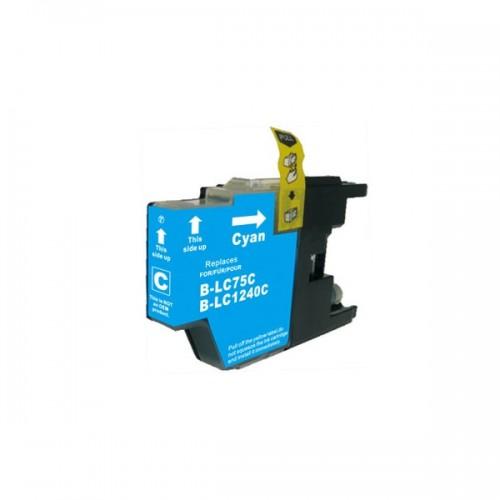 Tinteiro Compatível Brother LC1220XL/LC1240XL/LC1280XL Azul