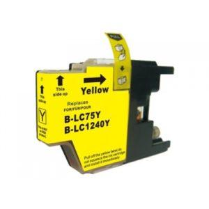 Tinteiro Compatível Brother LC1220XL/LC1240XL/LC1280XL Amarelo