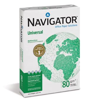 Resma Papel Navigator A4 80 Grs 500fls