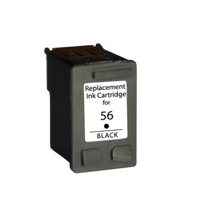 Tinteiro Compatível HP C6656GE/C6656AE Nº56 Preto
