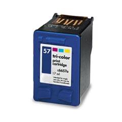 Tinteiro Compatível HP C6657GE/C6657AE Nº57 Cor