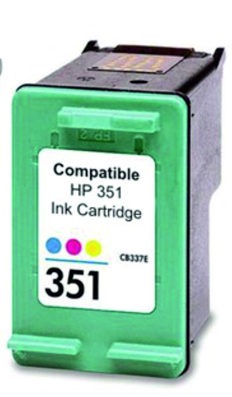 Tinteiro Compatível HP CB337EE/CB338EE Nº351XL Cor