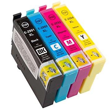 Conjunto Tinteiros EPSON T2991 / T2992 / T2993 / T2994 (29XL)