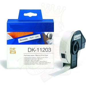 Etiquetas Compatíveis Brother DK11203