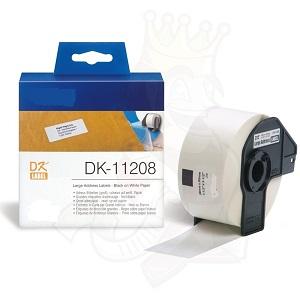 Etiquetas Compatíveis Brother DK11208