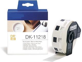 Etiquetas Compatíveis Brother DK11218