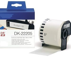 Etiquetas Compatíveis Brother DK22205