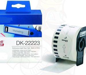 Etiquetas Compatíveis Brother DK22223