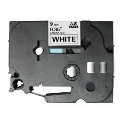 Fita Compatível Brother White 9mmX8m for Brother Eletronic labelling TZ-221/TZe-221