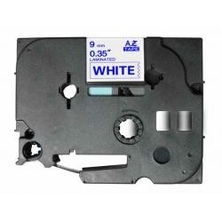 Fita Compatível Brother Laminada Blue-White 9mmX8m Brother label#TZ-223/TZe-223