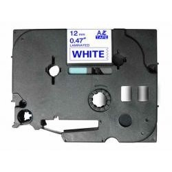 Fita Compatível Brother Laminada Blue-White 12mmX8m Brother label#TZ-233/TZe-233