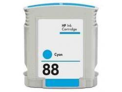 Tinteiro Compatível HP C9386AE/C9391AE Nº88 Azul