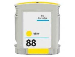 Tinteiro Compatível HP C9388AE/C9393AE Nº88 Amarelo