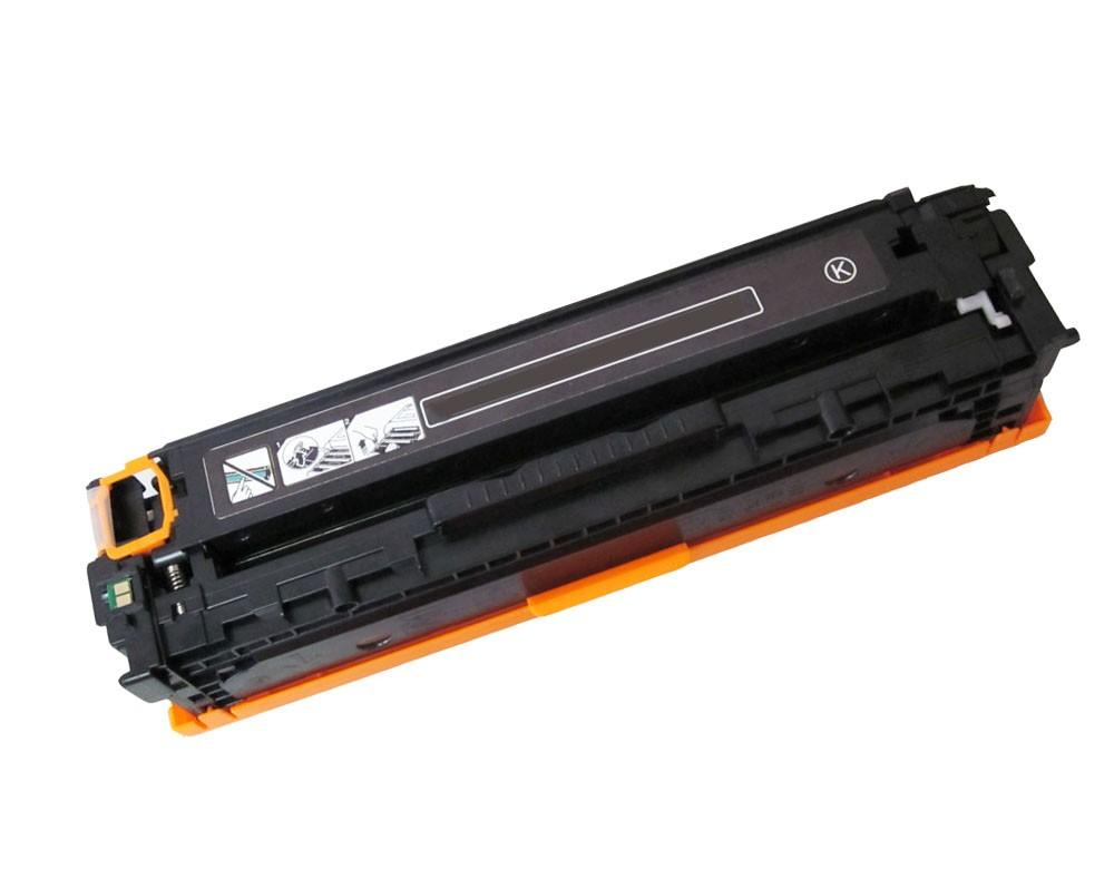 Toner Compatível HP CB540A/CE320A/CF210X/CF210A/CANON 731 Preto