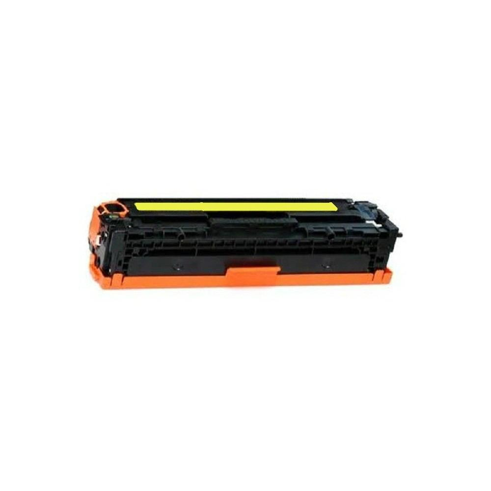 Toner Compatível HP CB542A/CE322A/CF212A /CANON 731 Amarelo