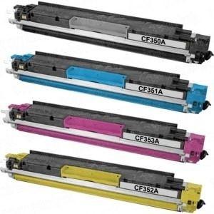 Conjunto Toners Compatíveis CF350A / CF351A / CF352A / CF353A Nº130A