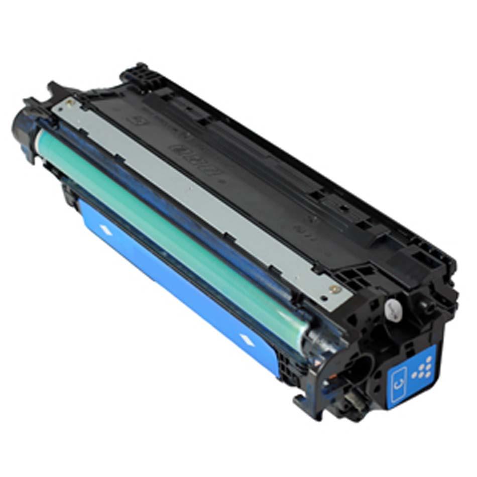 Toner Compatível HP CE271A nº650A Azul