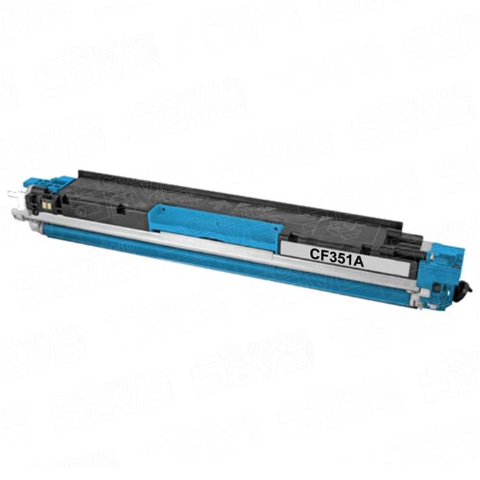 Toner Compatível HP CF351A Azul Nº130A