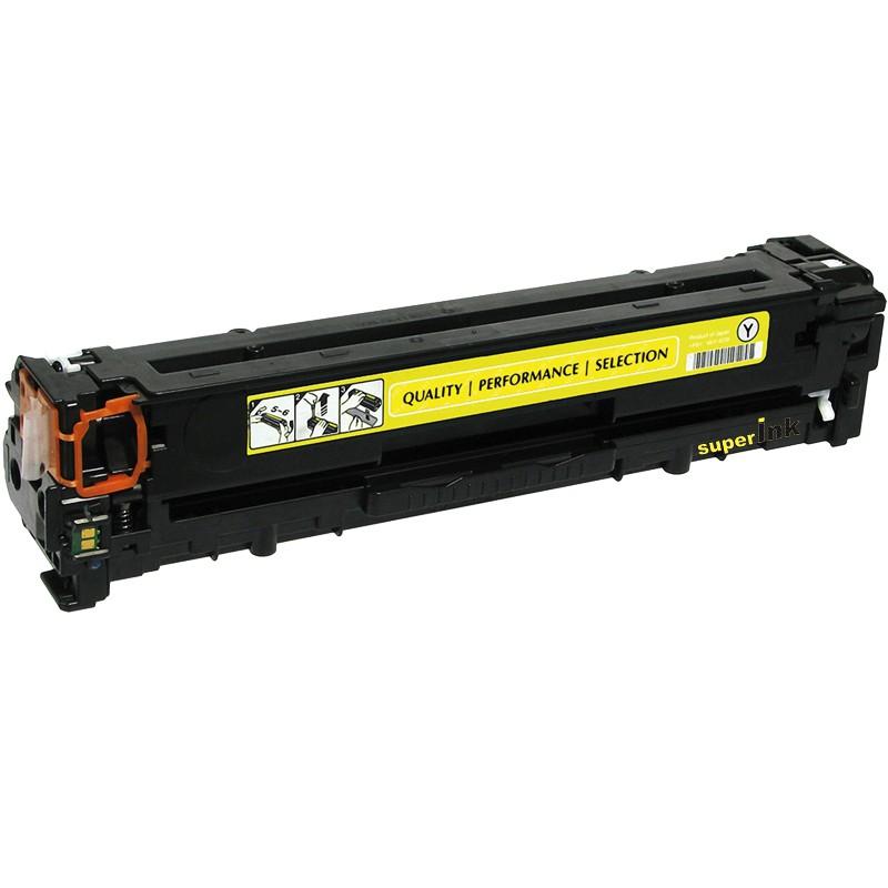 Toner Compatível HP CF382A Amarelo Nº321A