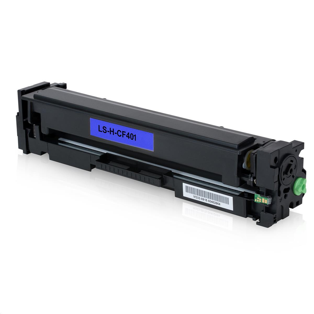 Toner Compatível HP CF401A Azul Nº201X