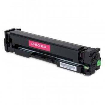 Toner Compatível HP CF403X Magenta Nº201X