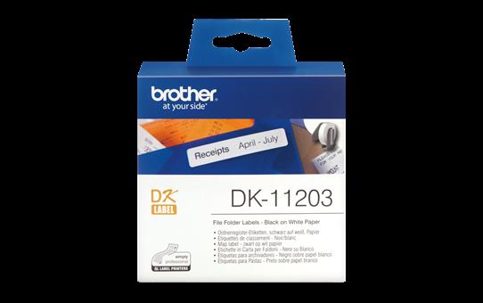 Etiquetas Original Brother DK11203