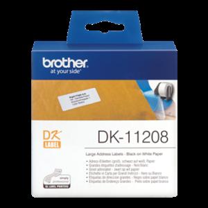 Etiquetas Originais Brother DK11208