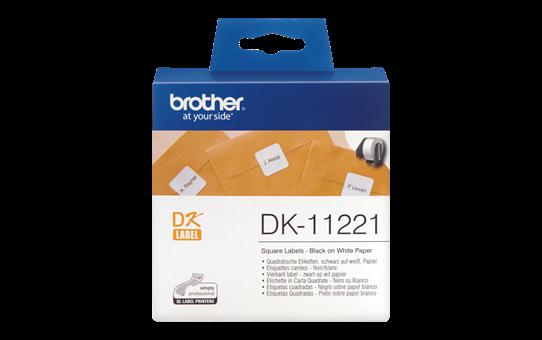 Etiquetas Originais Brother DK11221