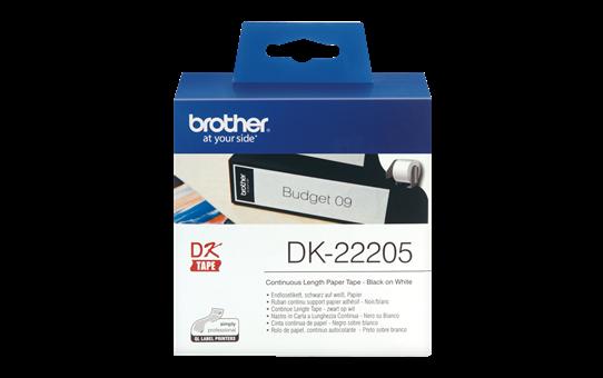 Etiquetas Originais Brother DK22205