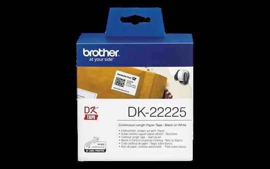 Etiquetas Originais Brother DK22225