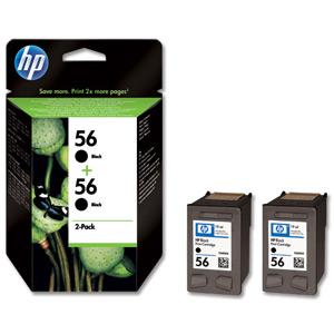 Tinteiro Deskjet 450 Series (C9502A) Nº56 Preto (2xC6656A)