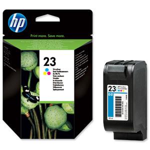 Tinteiro Nº23 DeskJet 89xC/OJ117xx/ DJ710C (C1823D) 3 Cores