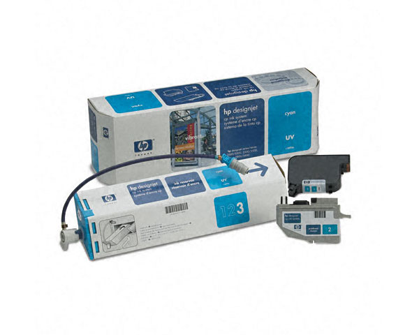 Ink System CP-UV Resistente Raios UV (C1893A) Azul