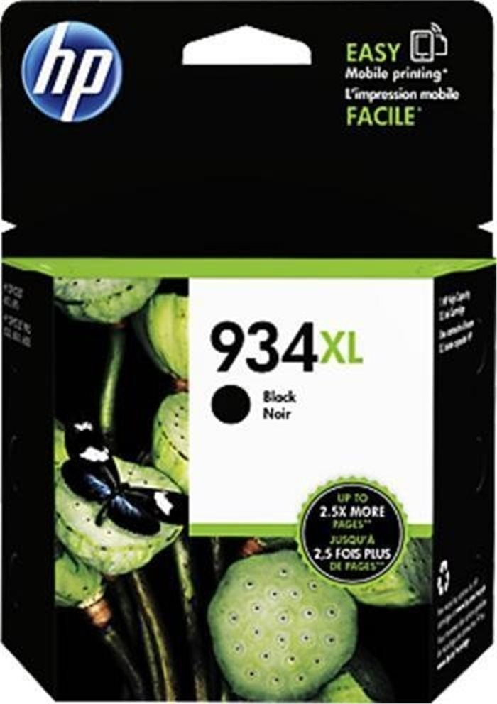 Tinteiro HP 934XL Officejet 6812/6815/6230/6830 Preto