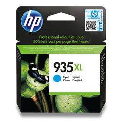 Tinteiro HP 935XL Officejet 6812/6815/6230/6830 Azul