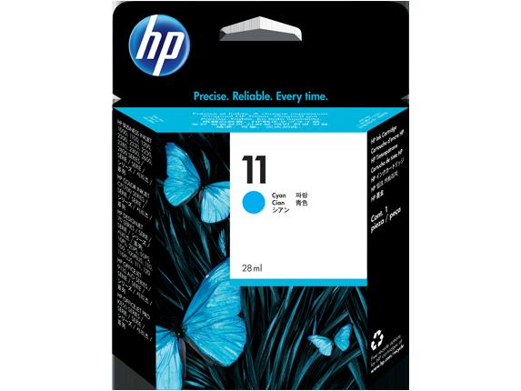 Tinteiro Business InkJet 1100D (C4836A) Nº11 Azul