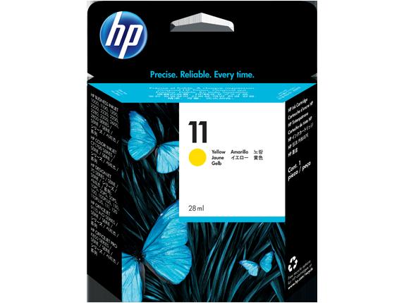 Tinteiro Business InkJet 1100D (C4838A) Nº11 Amarelo