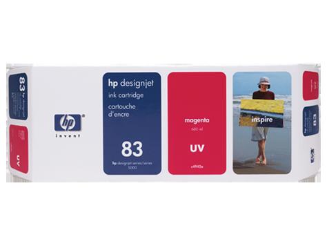 Tinteiro UV DesignJet 5000 (C4942A) Nº83 Magenta