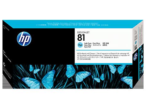 Cabeca de Impressao e Limpeza (C4954A) Nº81 Azul Claro