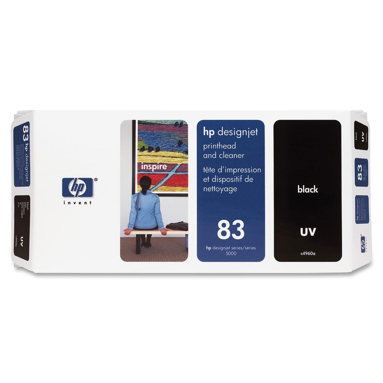 Cabeca de Impressao e Limpeza UV (C4960A) Nº83 Preto