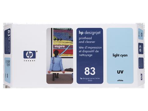 Cabeca de Impressao e Limpeza UV (C4964A) Nº83 Azul Claro