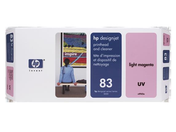 Cabeca de Impressao e Limpeza UV (C4965A) Nº83 Magenta Claro