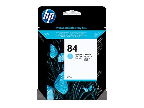 Tinteiro DesignJet 10ps/20ps (C5017A) Nº84 Azul Claro