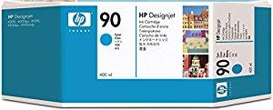 Tinteiro DesignJet 4000 (C5061A) Nº90 Azul Alta Capacidade