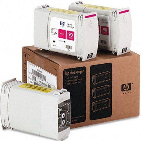 Tinteiro DesignJet 4000 (C5084A) Nº90 Magenta Pack 3x400ml