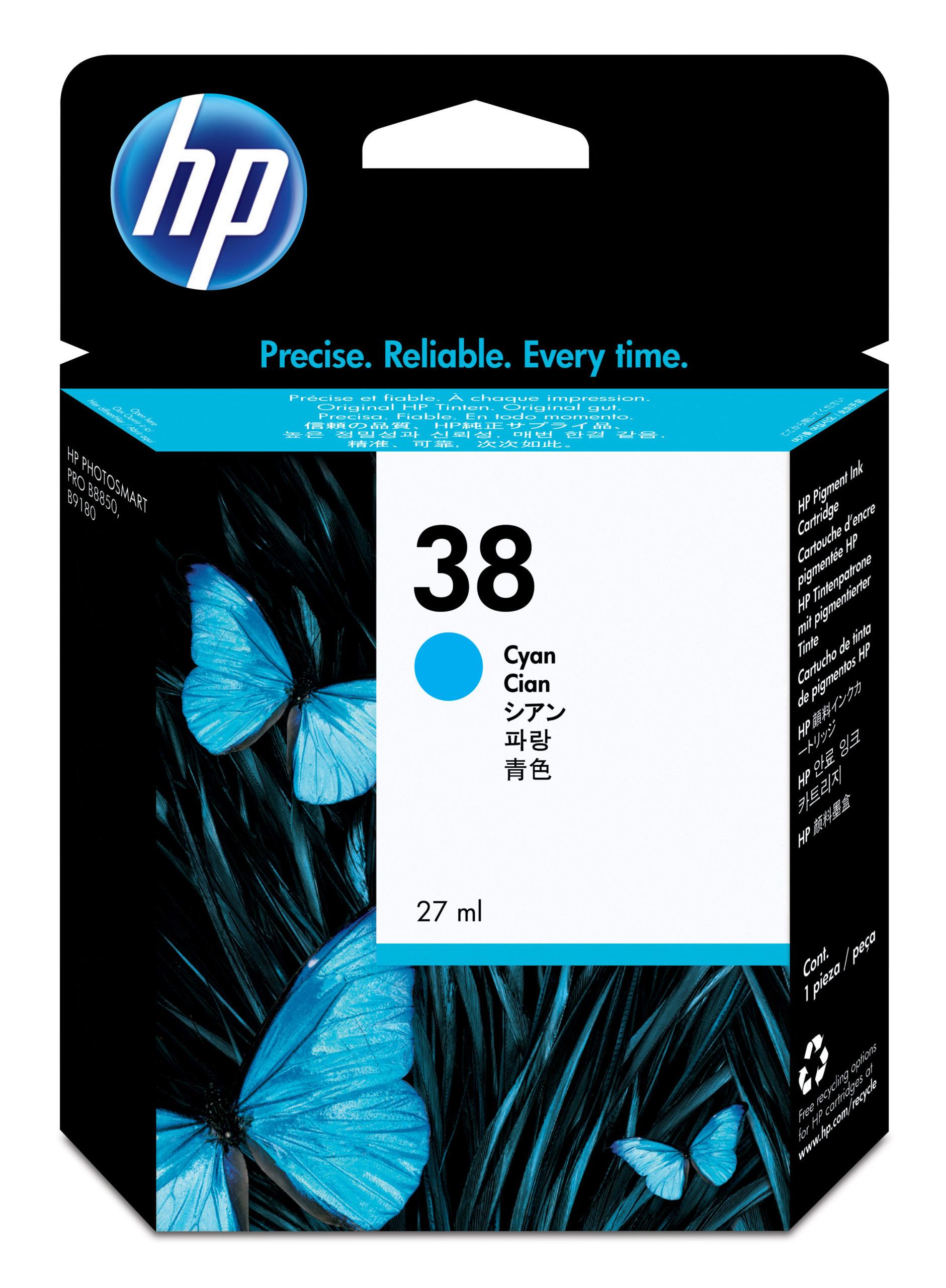 Tinteiro (C9415A) Nº38 Azul