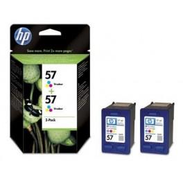 Tinteiro Deskjet 450ci/4255 (C9503A) Nº57 3 Cores (2xC6657A)