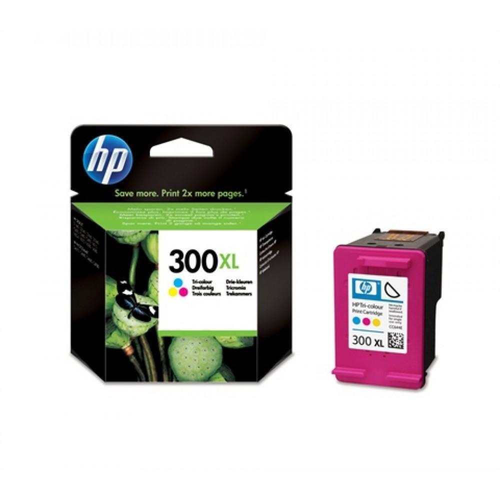 Tinteiro HP Nº300XL (CC644E) com Tinta Vivera 3 Cores